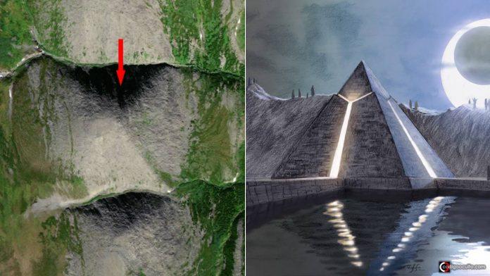 Descubren una posible Pirámide Gigante oculta en una montaña en Rusia