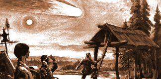 Un ENORME objeto metálico causó la explosión sobre Tunguska