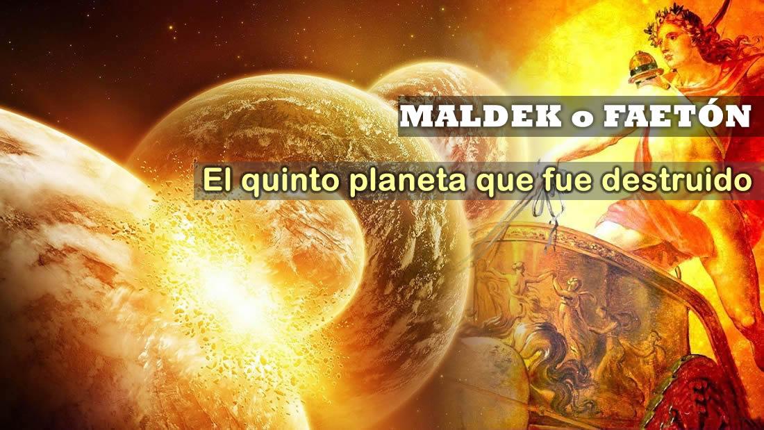 Maldek o Faetón: el «Quinto Planeta» que fue destruido