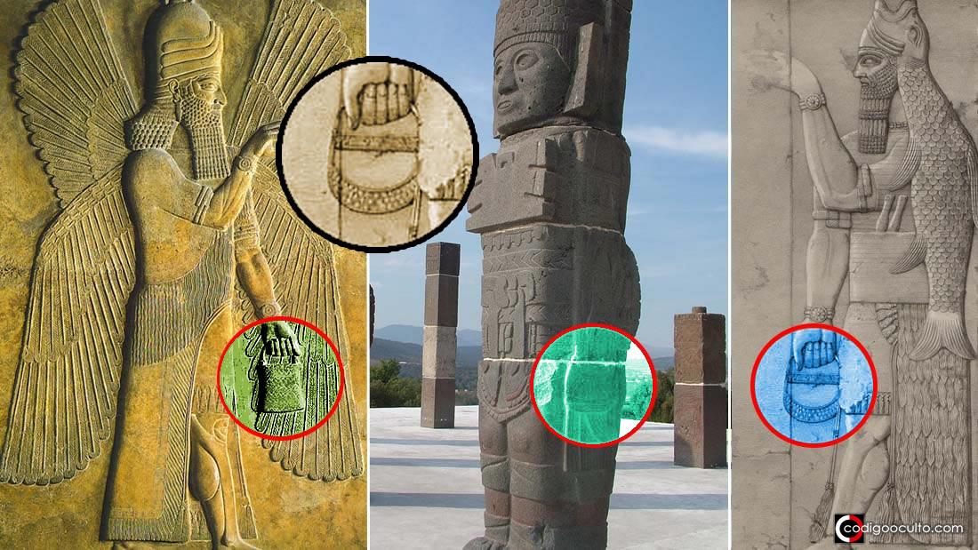 El misterioso «bolso» de los Dioses: representado en Sumeria, América y Göbekli Tepe