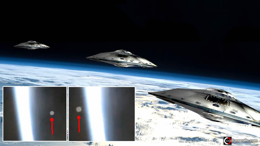 «NAVE enorme» cruza en directo delante de la Estación Espacial (Vídeo)