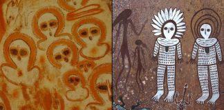 Wandjinas: el arte rupestre aborigen de 4.000 años de antigüedad en Australia