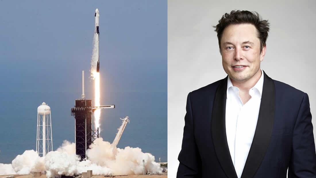 SpaceX y Elon Musk hacen historia: lanzan dos astronautas con éxito al espacio