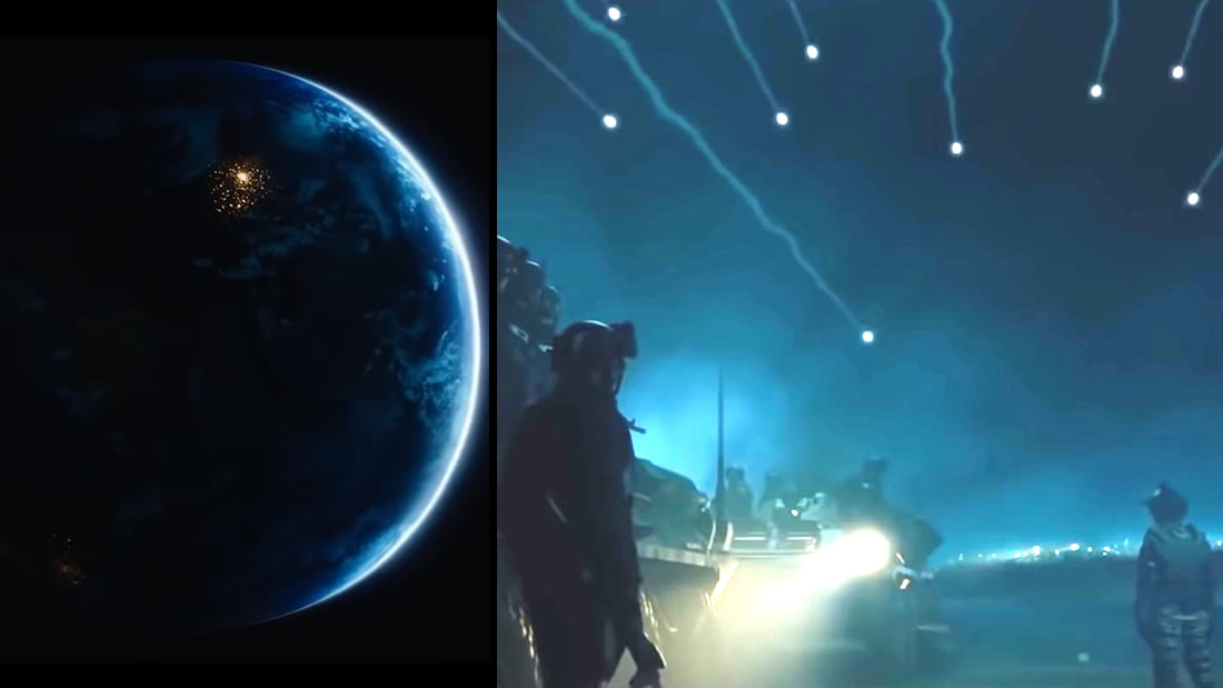 Apagón Mundial e Invasión a la Tierra: el último bastión de la humanidad (Vídeo)