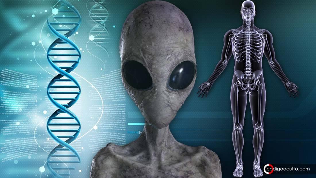 ¿Los alienígenas codificaron «mensajes ocultos» en el ADN humano?