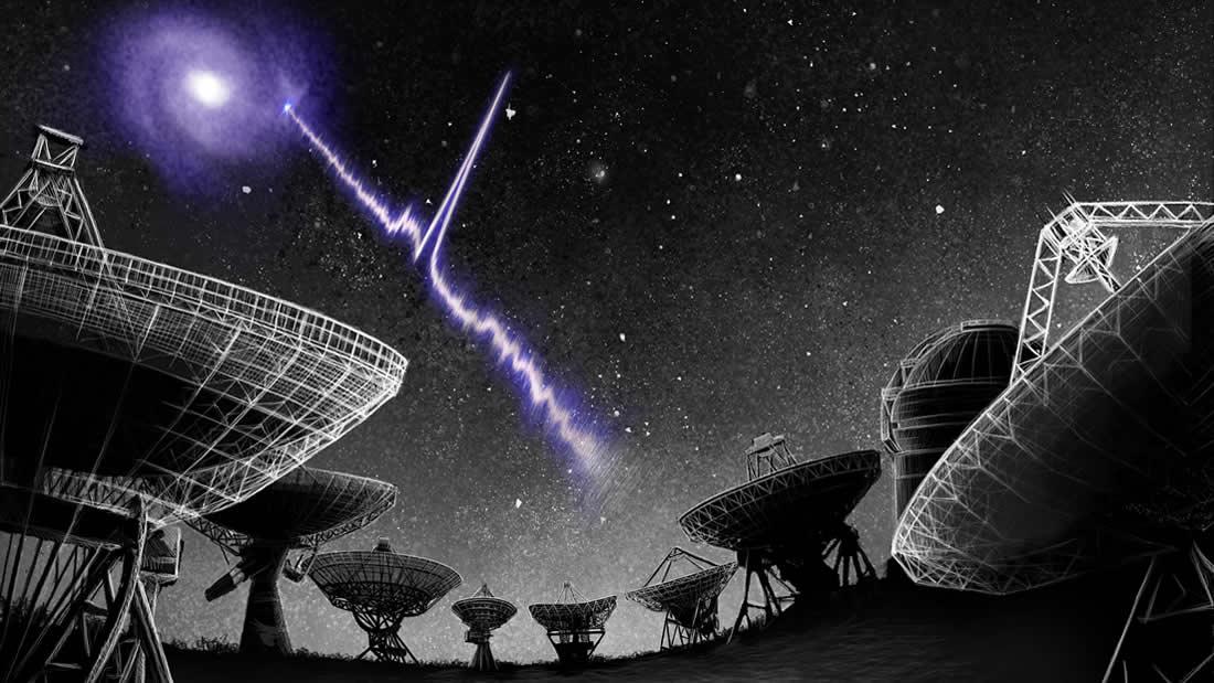 Astrónomos detectan una señal proveniente del espacio cada 157 días