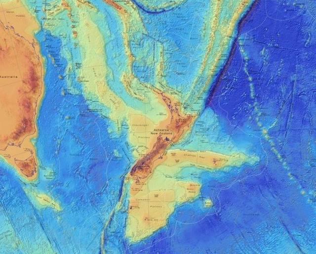 Continente perdido Zealandia es revelado como nunca antes