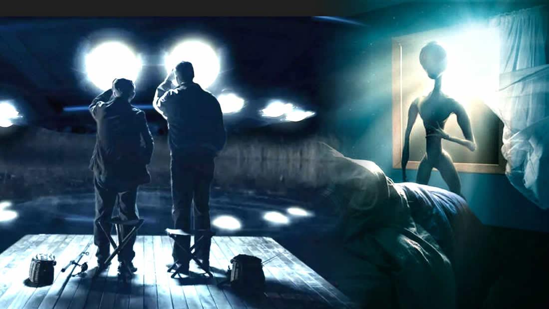 Dos hombres narraron que se enfrentaron a «alienígenas» que los iban a «abducir» (VÍDEO)