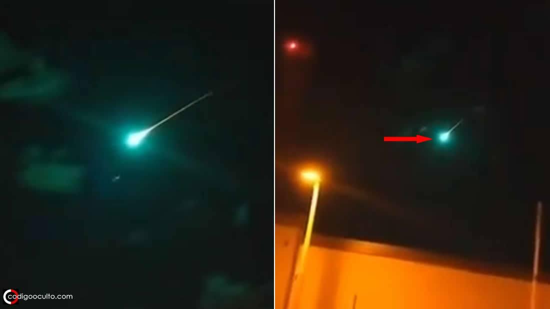 Enorme «bola de fuego» atraviesa el cielo de Australia
