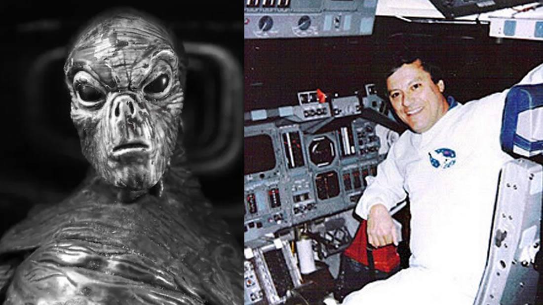Ex ingeniero de NASA dijo: «Vi un alienígena de 3 metros de altura... ¡Ellos están aquí!»