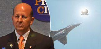 El piloto que le disparó a un OVNI y vivió para contar la historia
