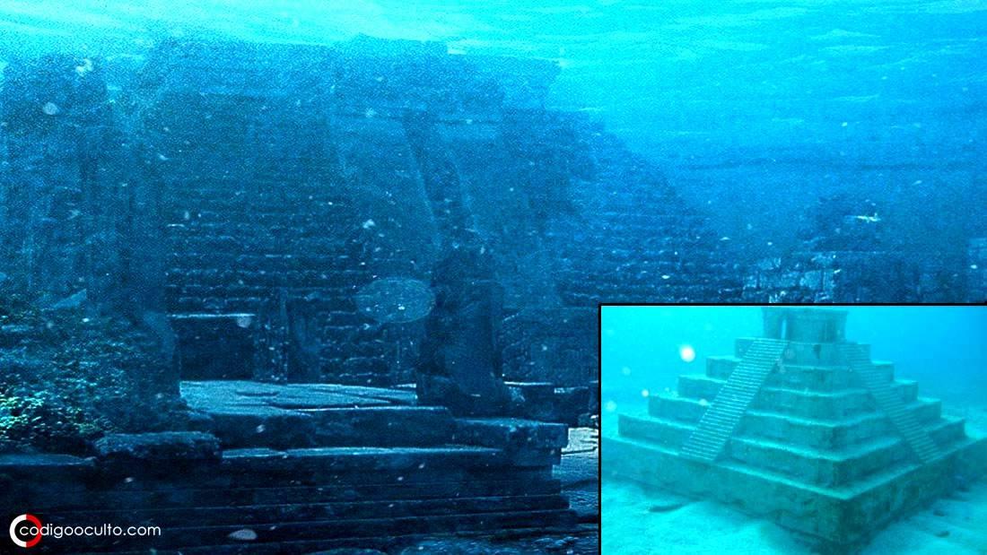 ¿Se construyó esta pirámide submarina en China antes del Diluvio Universal?