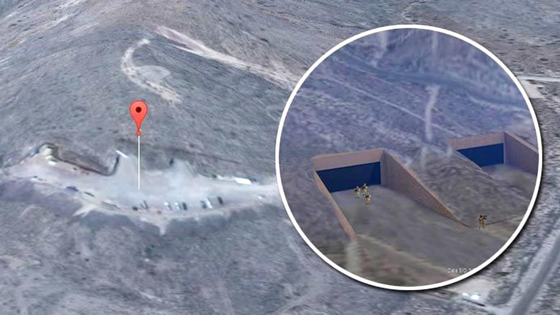 ¿Se han descubierto accesos a túneles subterráneos en el Área 51? (VÍDEO)