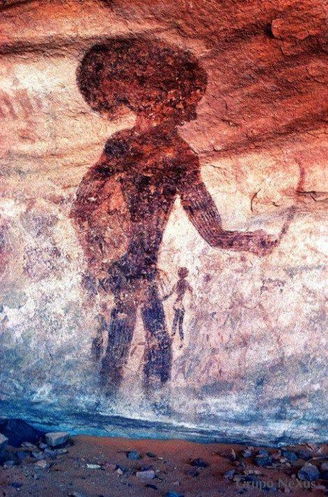 Tassili N'Ajjer: ¿evidencia de contacto alienígena en el remoto pasado?