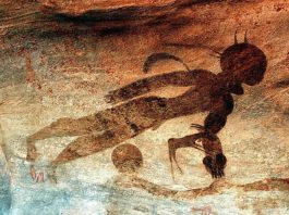 Tassili N'Ajjer: misteriosas pinturas rupestres que evidenciarían un contacto alienígena