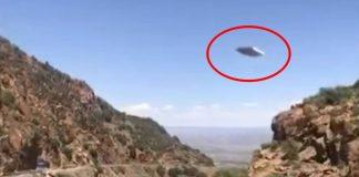Turista captura un raro OVNI rectangular y plano en Arizona