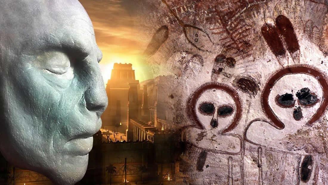 Wandjinas y la simbología de la Serpiente: seres que descendieron a la Tierra en tiempos muy antiguos