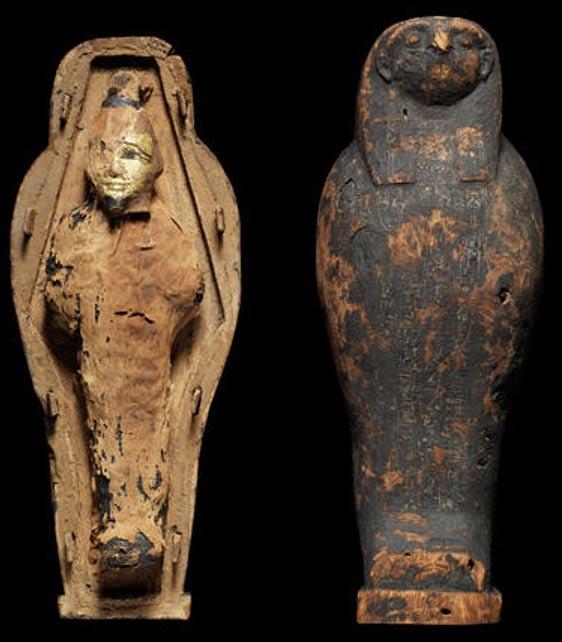 Análisis revelan momias egipcias «no humanas» de 3.000 años de antigüedad