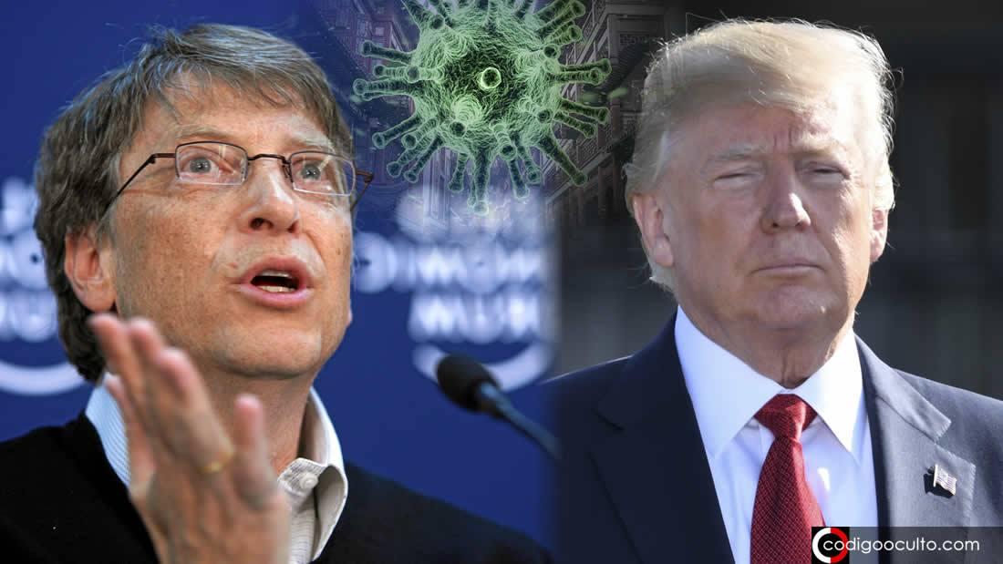 Bill Gates critica a Trump por «no hacer lo suficiente contra la pandemia» (VÍDEO)