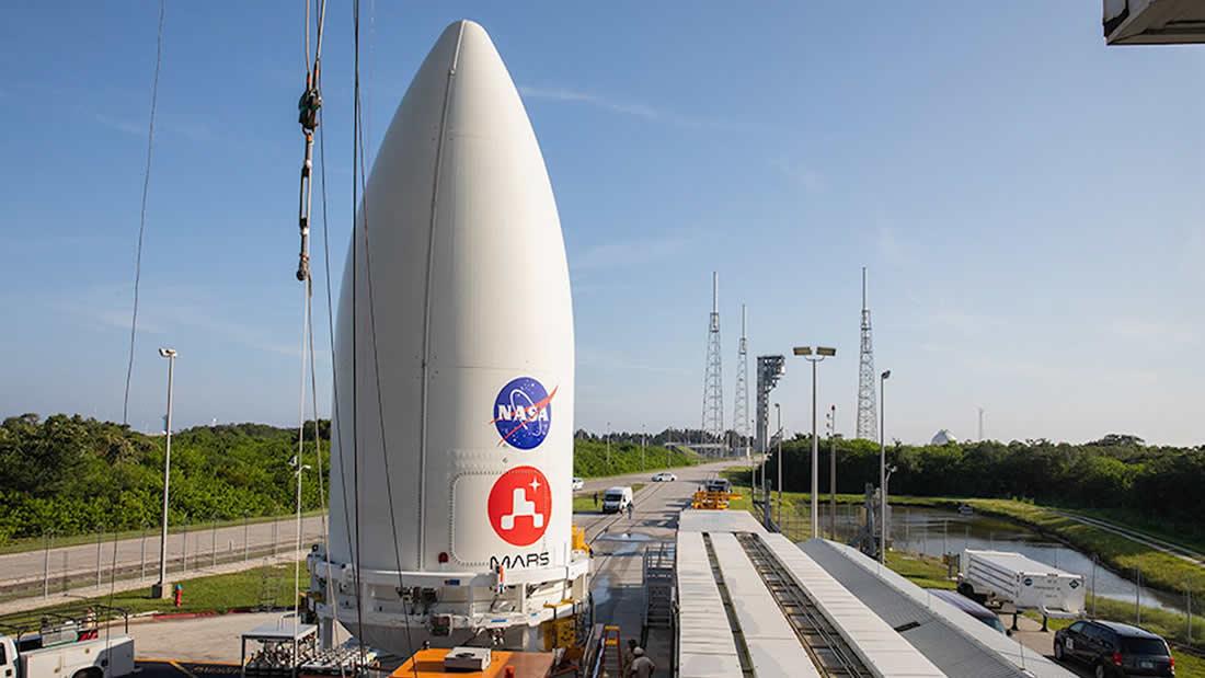 EE.UU., China y EAU enviarán naves espaciales a Marte desde esta semana