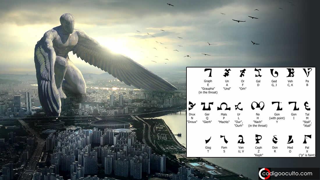 Enoquiano: el lenguaje olvidado para comunicarse con los «ángeles» (VÍDEO)