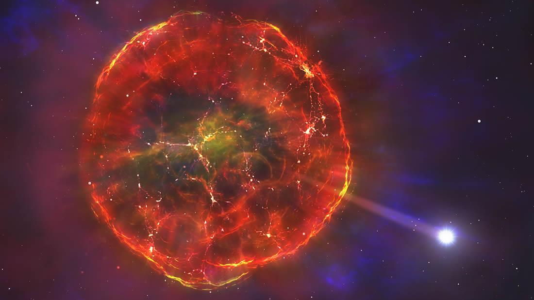 Explosión termonuclear lanza una extraña estrella a través de la galaxia