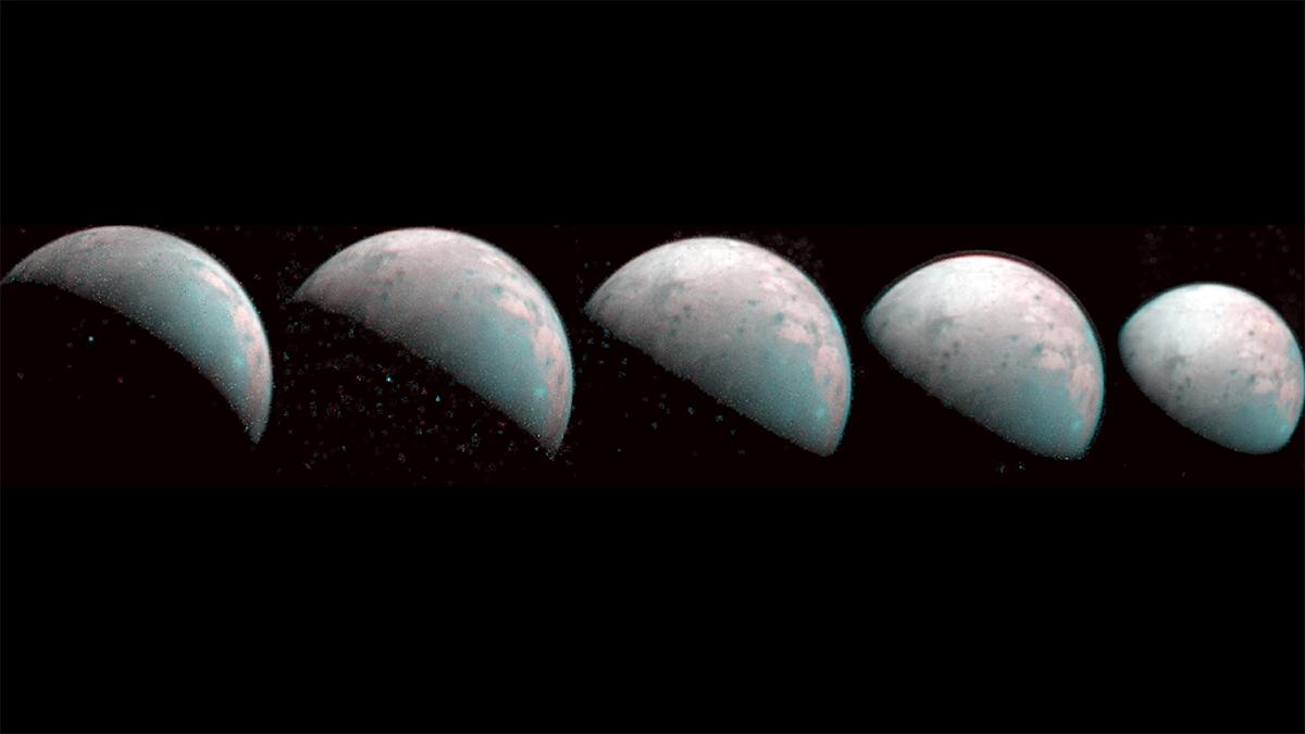 Finalmente observan a Ganímedes, una «bola de nieve» más grande que Mercurio que podría tener vida