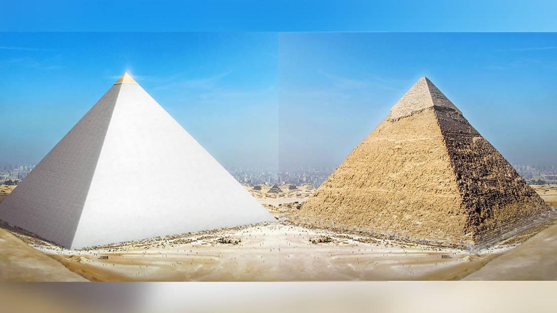 La Gran Pirámide de Giza brillaba como una ESTRELLA hace miles de años