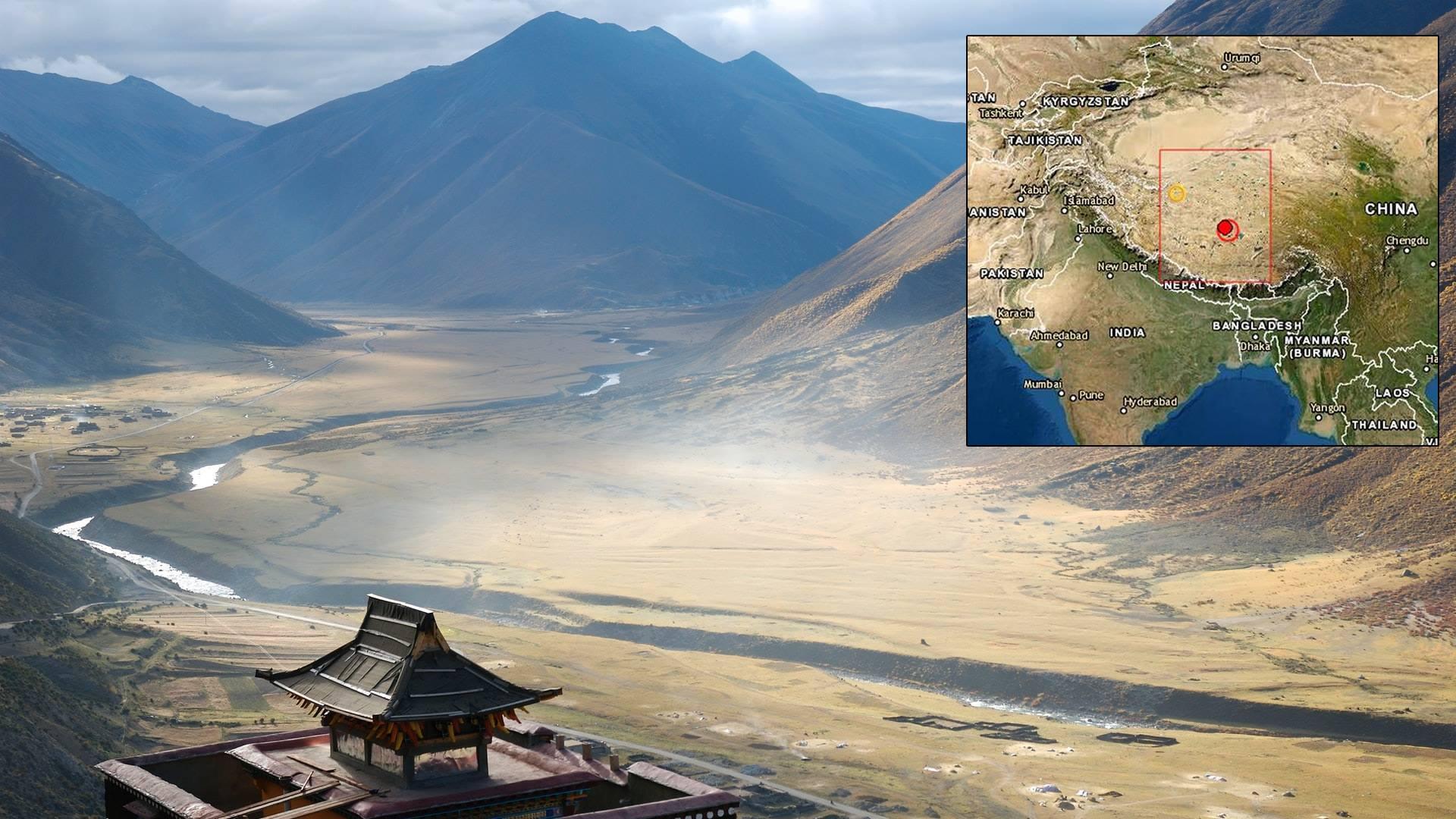 China: Sismo de magnitud 6.3 sacude el Tíbet al norte del Himalaya
