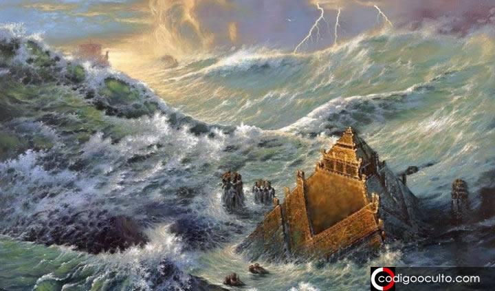 Viracocha y el gran diluvio causado para exterminar a los Gigantes