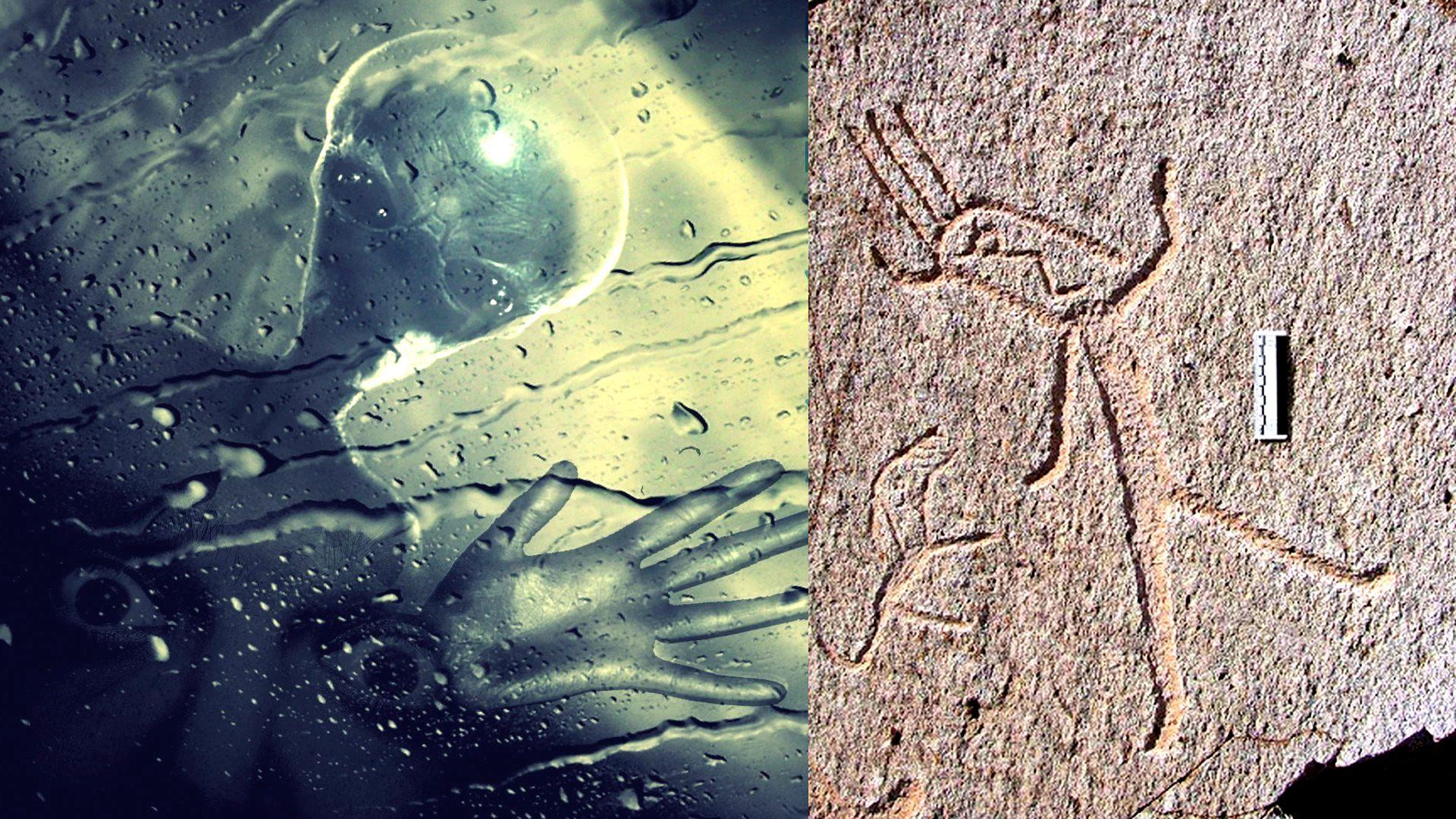 Alienígenas en el antiguo Perú: misteriosos petroglifos de «Toro Muerto» (VÍDEO)