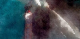 Al borde de una catástrofe ambiental: derrame de petróleo en isla Mauricio es visible desde el espacio