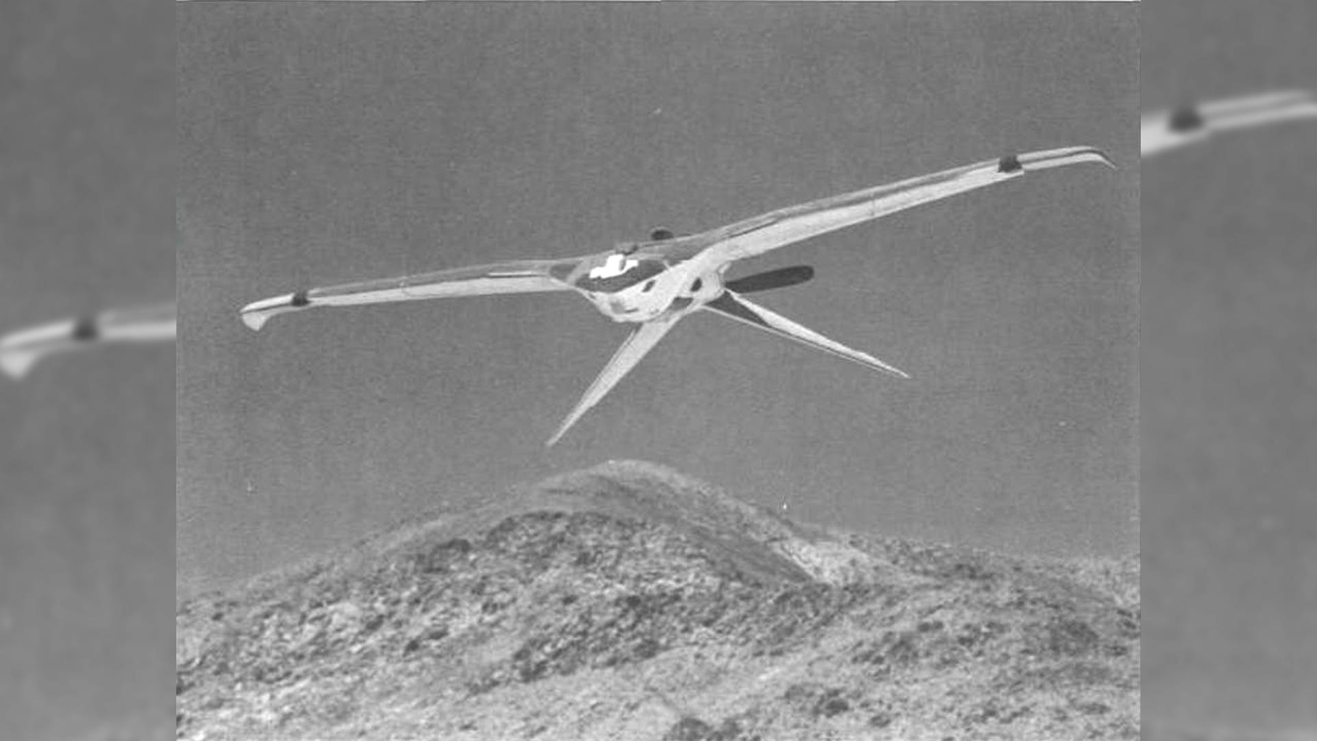 CIA desclasifica avión no tripulado «Stealth Drone» de los años 70, con propulsión nuclear