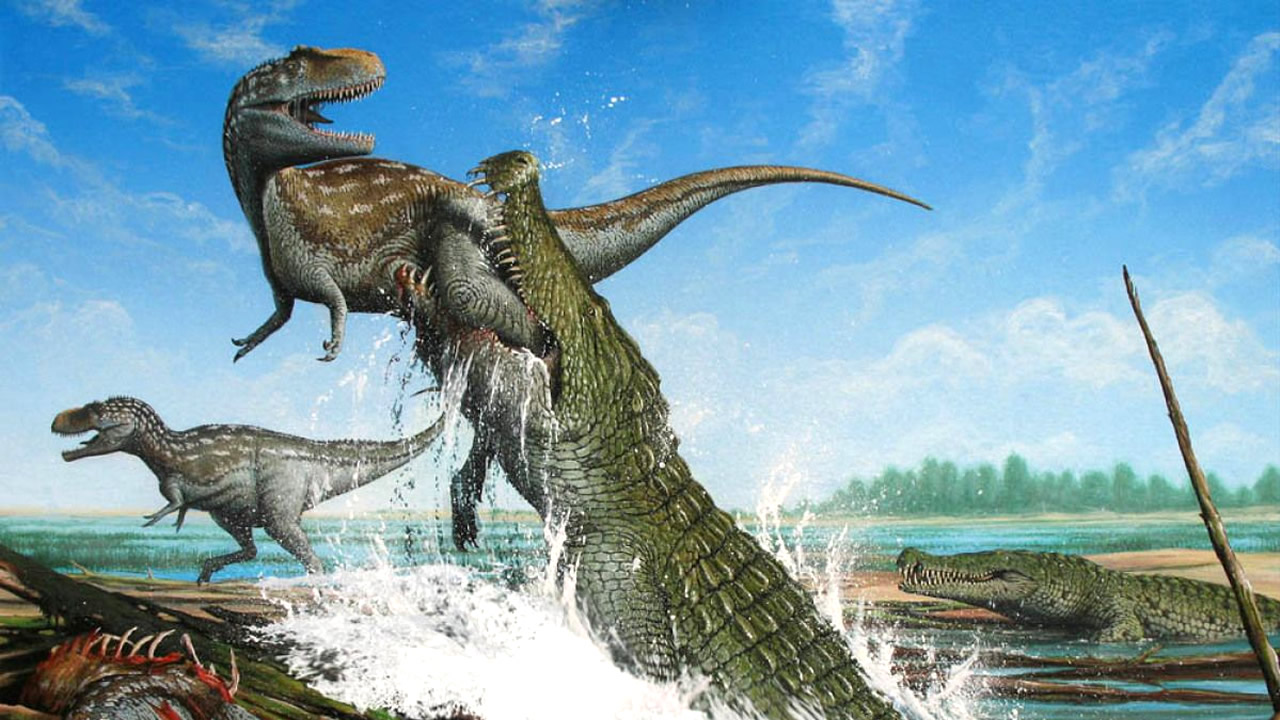 El «Cocodrilo del Terror» del Cretácico que destrozaba dinosaurios con sus enormes dientes