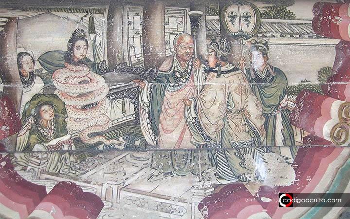 Dama Serpiente Blanca: leyenda china de un ser cambiaforma «reptil» de la época medieval