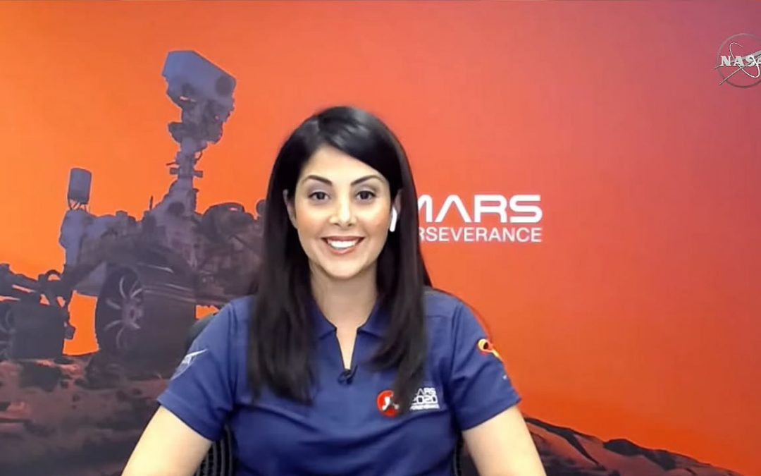 Diana Trujillo, la ingeniera aeroespacial colombiana que lideró la misión a Marte de NASA