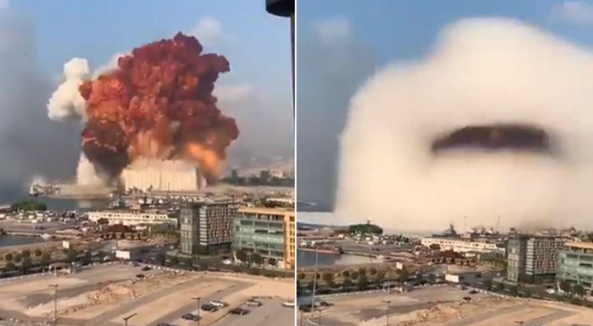 Enorme explosión en Beirut deja varios muertos y cientos de heridos (VÍDEO)