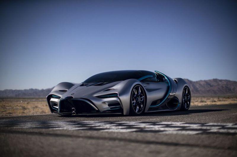 Este auto hiperdeportivo propulsado por hidrógeno tiene un alcance de 1.600 kilómetros