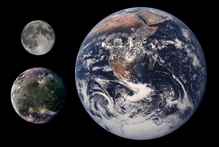 Estructura de impacto más grande del sistema solar puede haber sido encontrada ¡y es en Ganímedes!