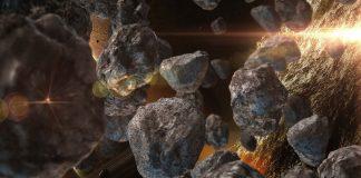 Extraña y antigua roca espacial antártica revela un misterio de la vida