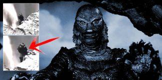 Extraña «criatura» es captada en un acantilado cerca de una cascada de Islandia