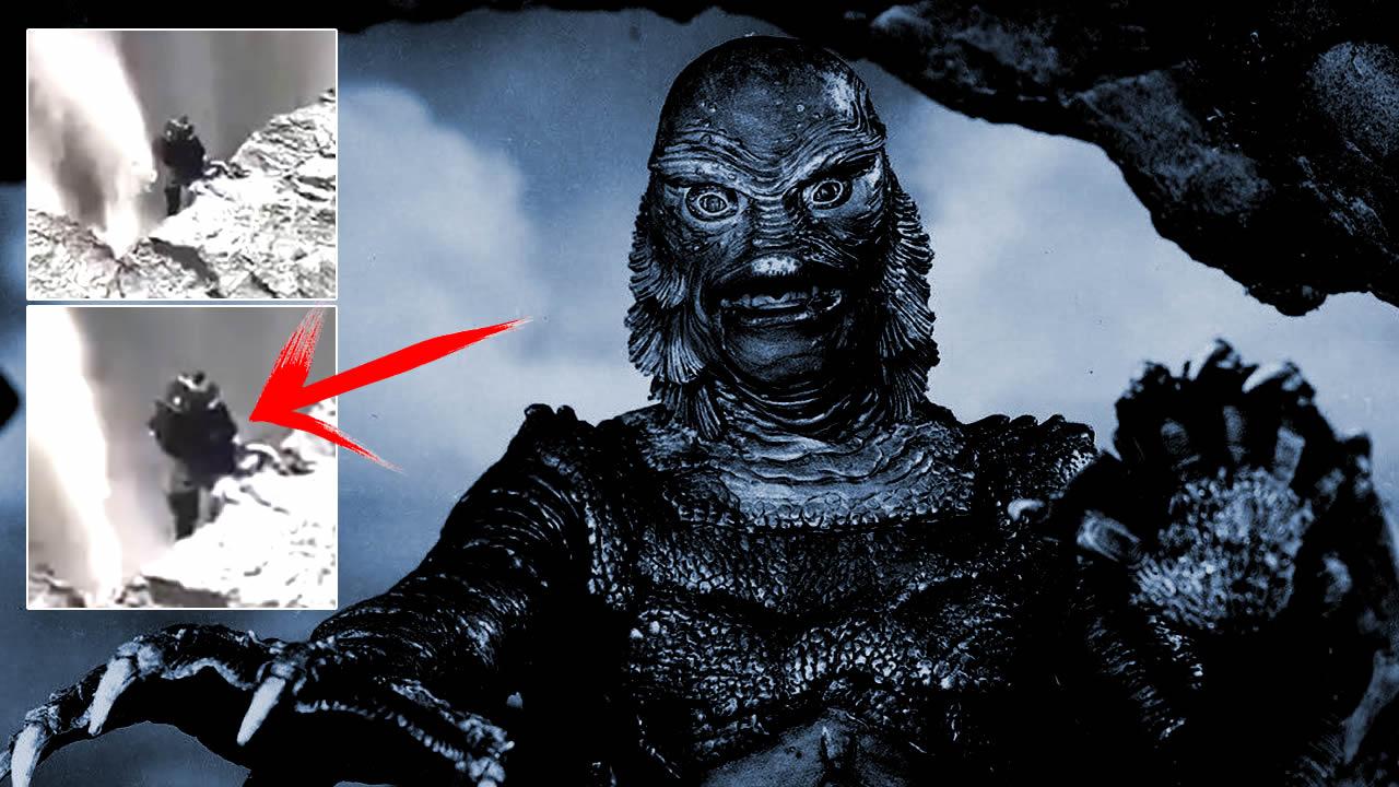Extraña «criatura» es captada en un acantilado cerca de una cascada de Islandia (VÍDEO)