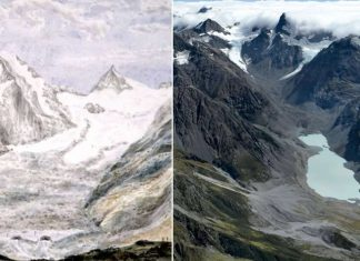 Glaciares de Nueva Zelanda se están derritiendo el doble de rápido que en la época preindustrial