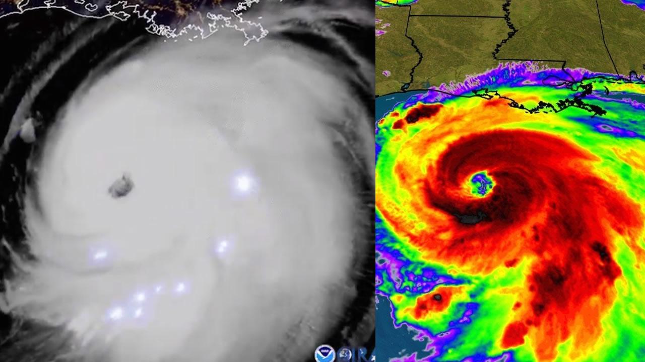 Huracán Laura se convierte en un «monstruo» categoría 4 y se teme una catástrofe