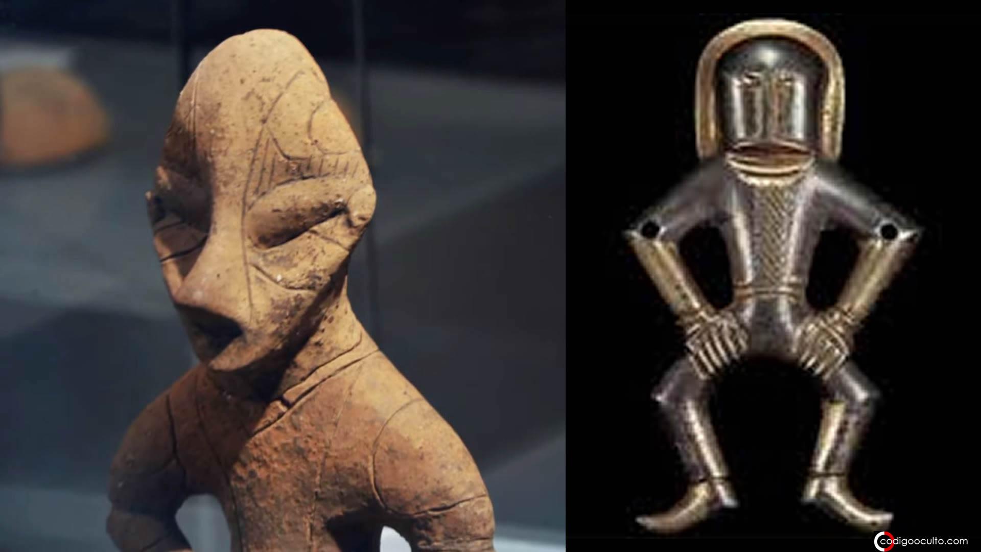 Legado alienígena: misteriosas esculturas antiguas en todo el mundo (VÍDEO)