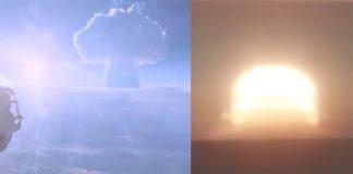 Liberán vídeo de la bomba de hidrógeno más grande jamás explotada