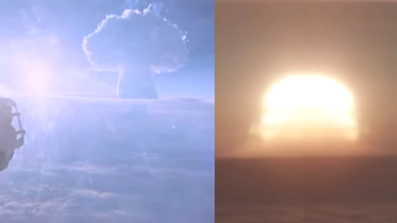 Liberan vídeo de la bomba de hidrógeno más grande jamás explotada