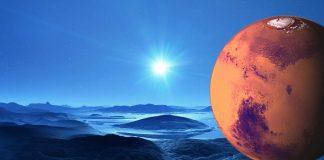 Marte estaba cubierto de gruesas capas de hielo y ríos fluyendo por debajo