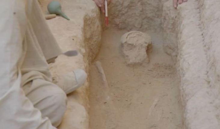 Misterioso hallazgo en Egipto desconcierta a arqueólogos... «Nunca había visto nada igual»