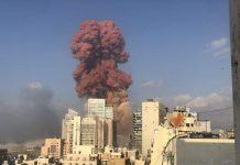 Presidente de Líbano: «no se descarta ataque de misil u otro tipo de bomba» (en Beirut)